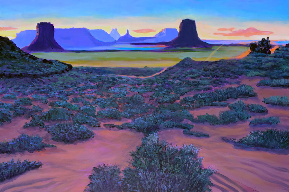 Monument Valley Navajo Tribal Park  Art | Charles Wallis