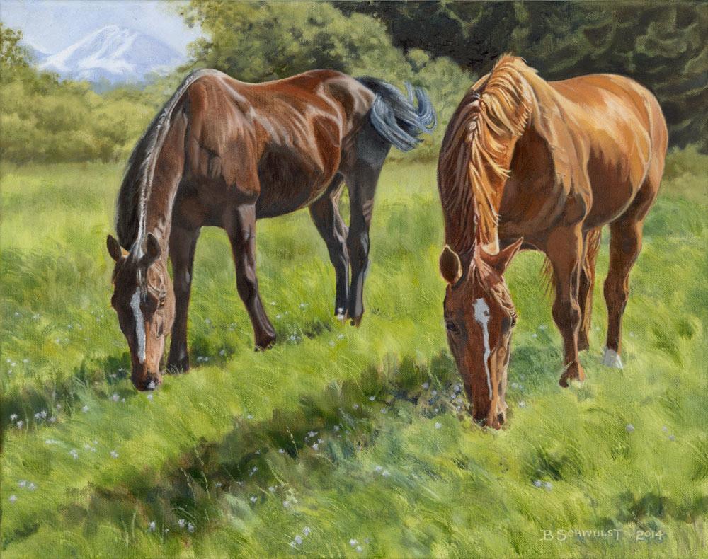 Barb Schwulst - 2 Horses
