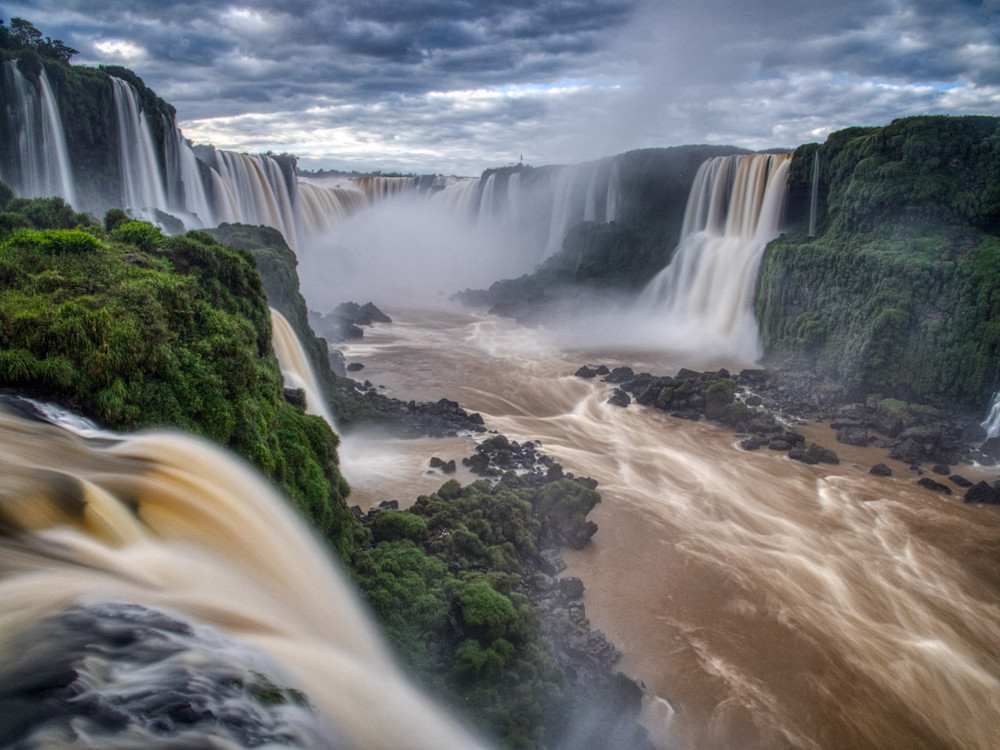 Mighty Iguassu Falls Photography Art | Peter Batty Photography
