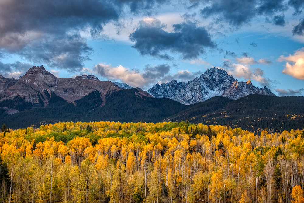 Mount Sneffels in the fall