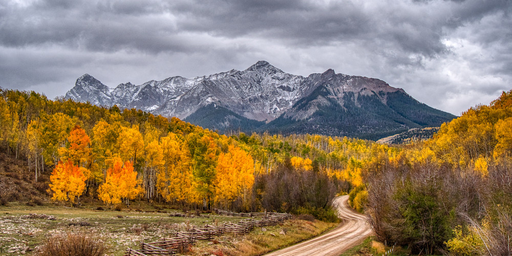 Fall Colors On Last Dollar Road Photography Art | Peter Batty Photography