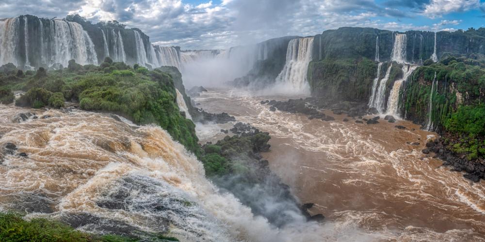 Iguassu Falls Panorama Photography Art | Peter Batty Photography