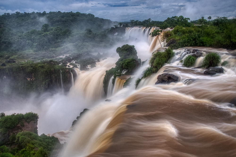 Iguassu Falls on the Argentinian side