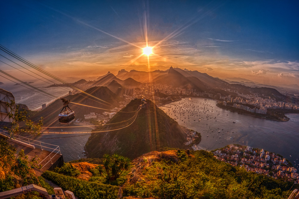 Sunset From Sugarloaf Mountain Photography Art | Peter Batty Photography