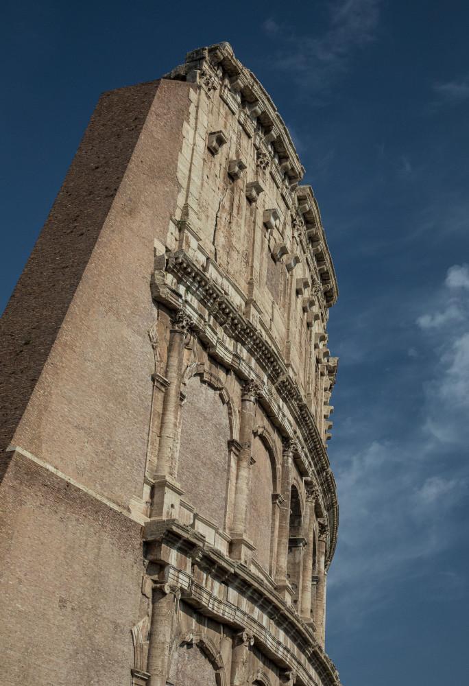 Rome Coliseum 2 Photography Art | Leiken Photography