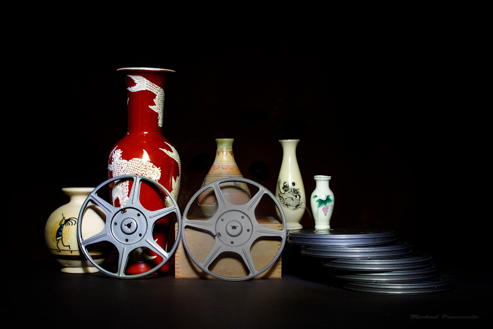 A Fine Art Photograph of Film Reels by Michael Pucciarelli
