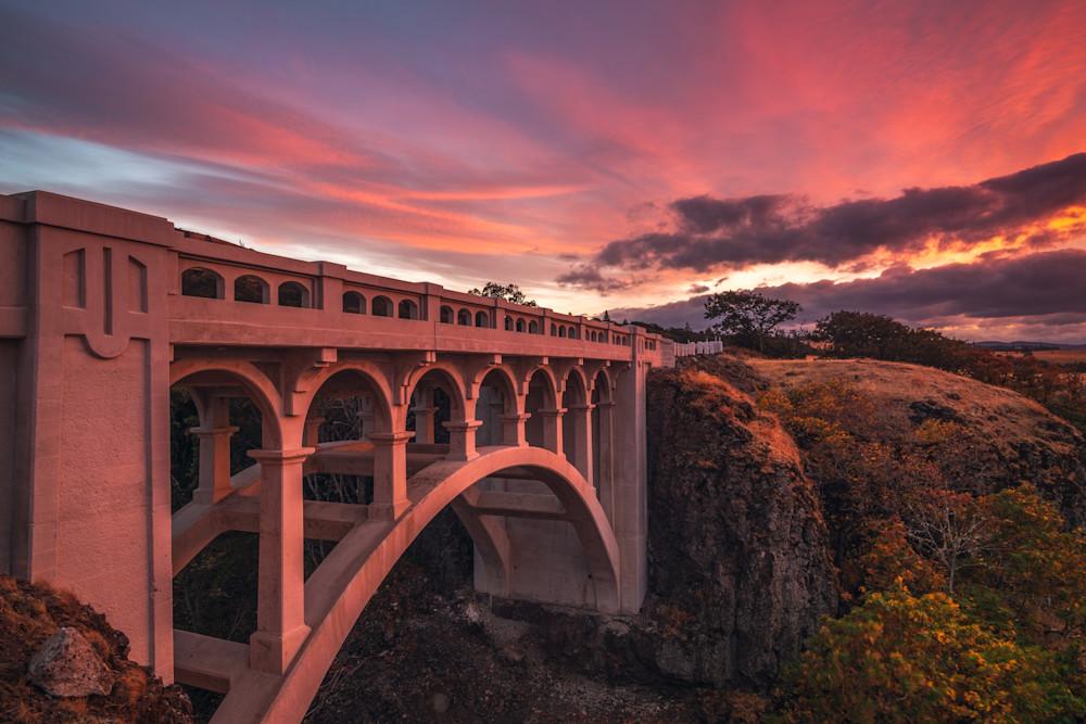 'Crests & Bridges' Photograph by Jess Santos for sale as Fine Art