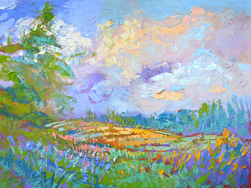 Beautiful Landscape Painting by Dorothy Fagan