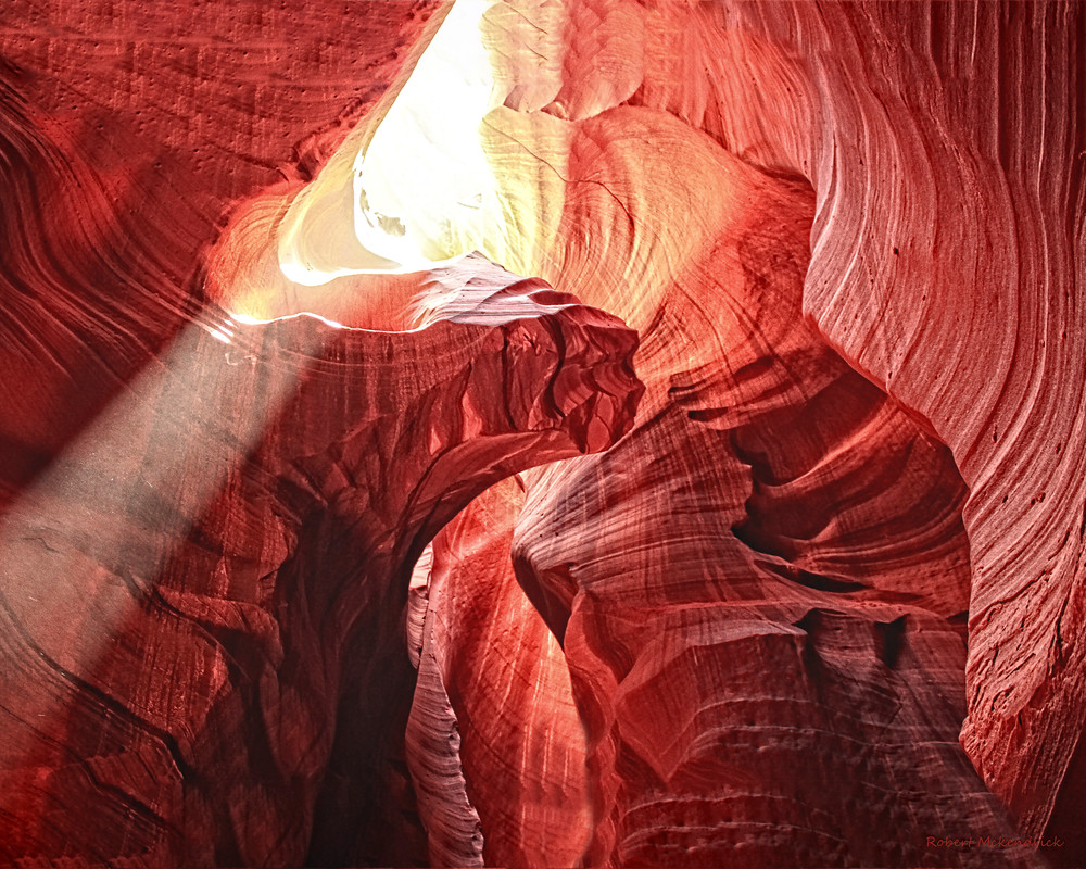 Sandstone Sculpture-Upper Antelope Canyon