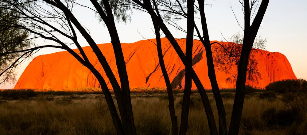 Sunset On Ayers Rock Photography Art | Kristofer Reynolds Photography