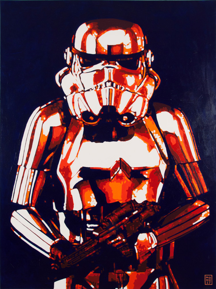 The Trooper Art | Todd Monk Art
