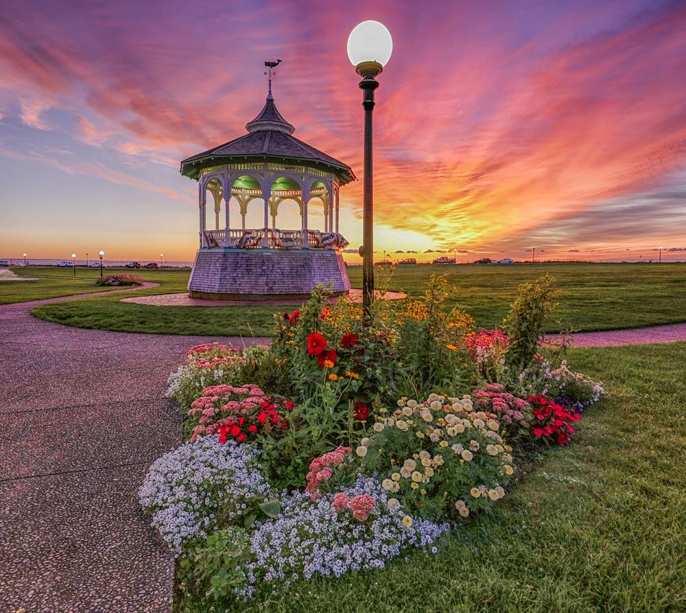 Ocean Park Late Summer Sunrise Art | Michael Blanchard Inspirational Photography - Crossroads Gallery