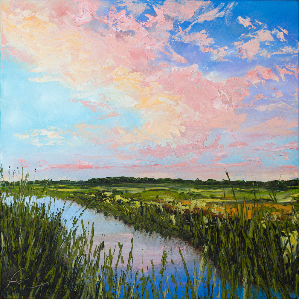 Mind at Ease, Marsh Sunset