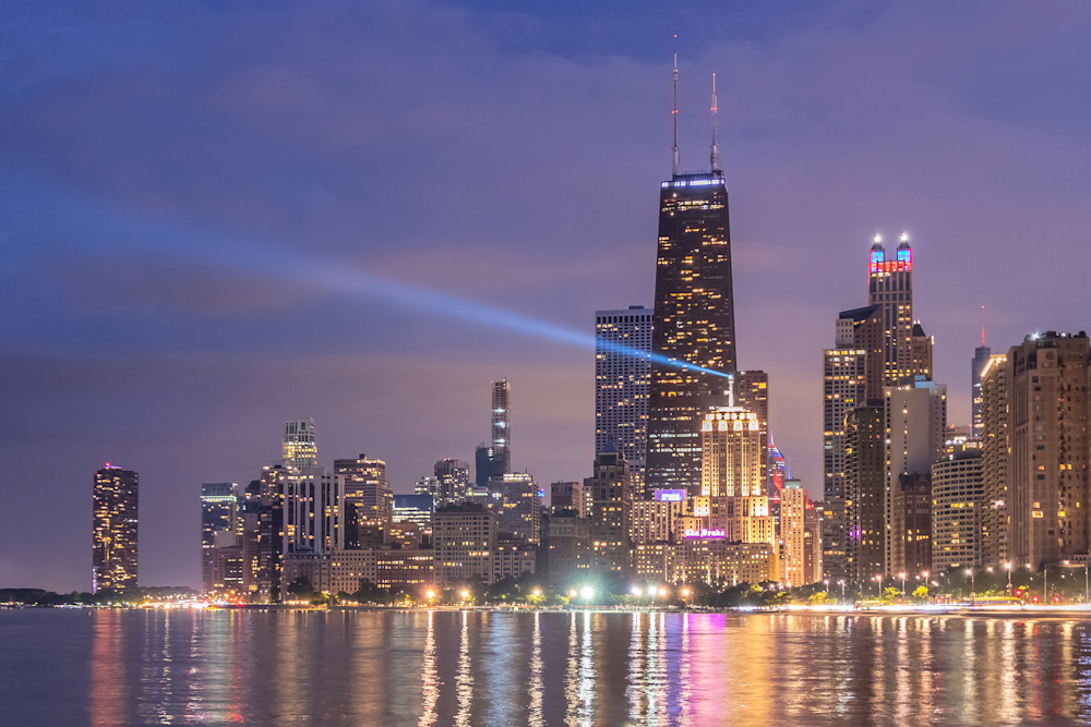 One Night in Chicago - Chicago Photos for Sale | William Drew Photography
