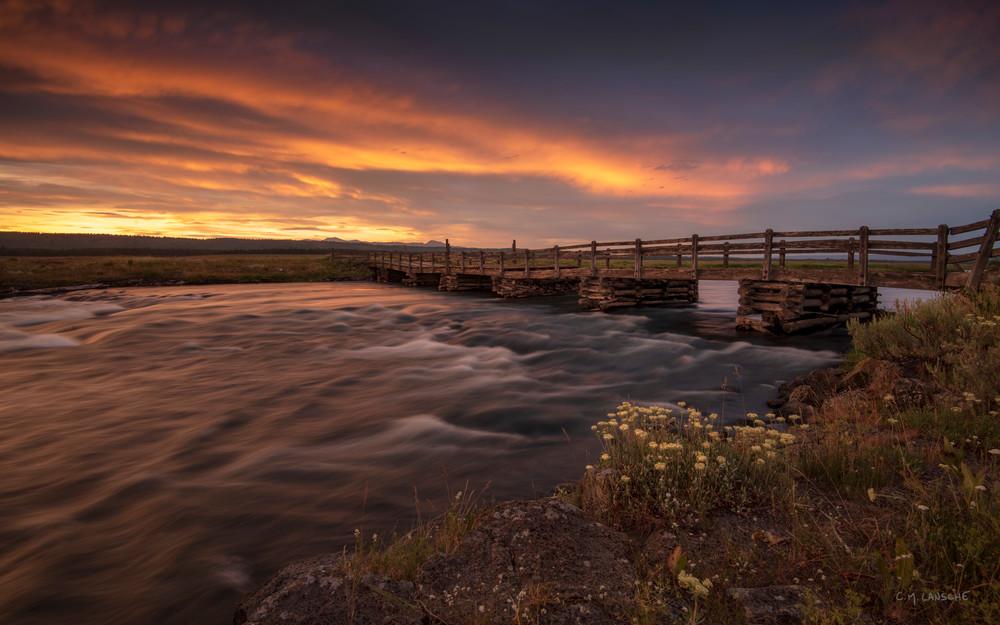 Stock Bridge Sunset