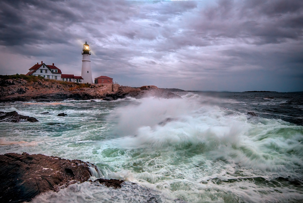 Tempest at Portland Head | Shop Photography by Rick Berk