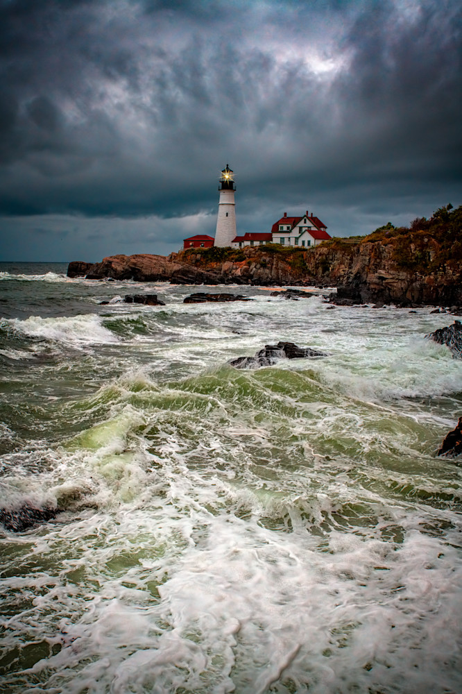 Nature's Fury at Portland Head | Shop Photography by Rick Berk