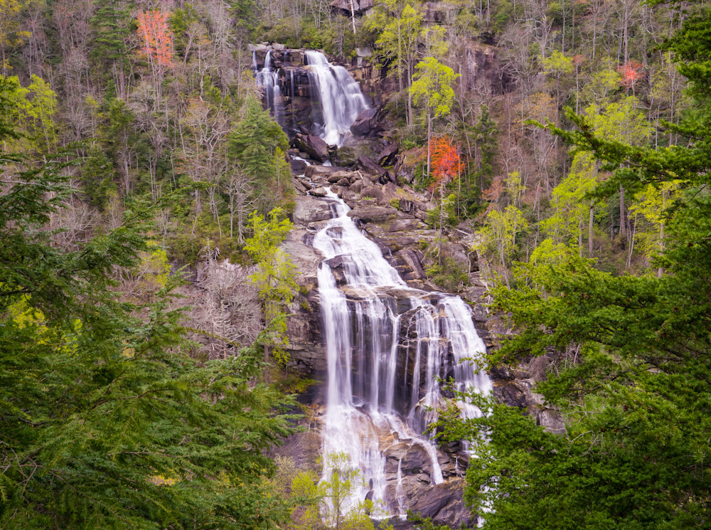 Whitewater Falls Full 2 Art | Drew Campbell Photography