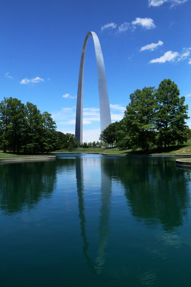 Reflection Of Gateway Arch  Art | Moore Design Group