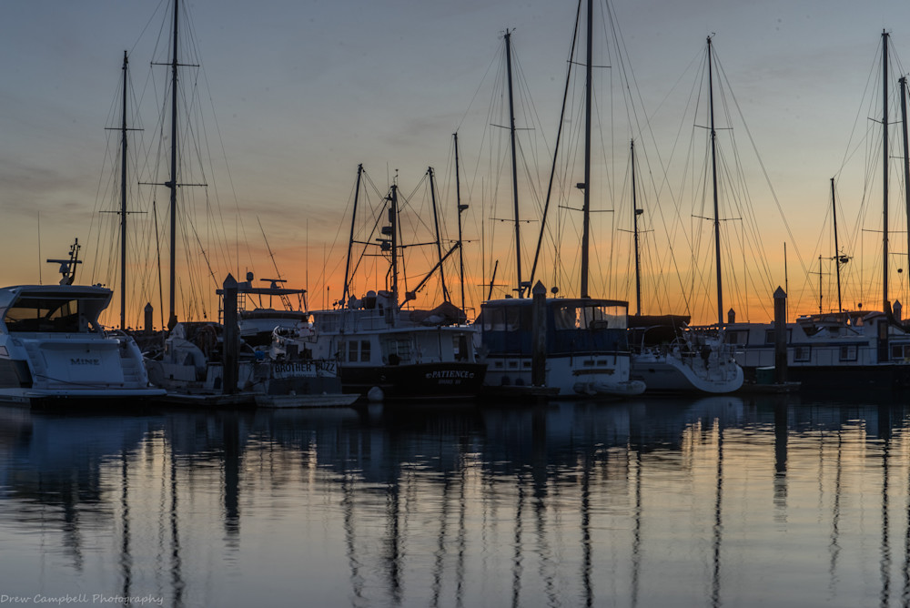 Harbor Boats Art | Drew Campbell Photography