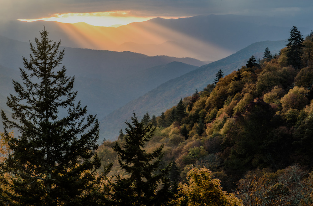 Smoky Mountain Vista Art | Drew Campbell Photography