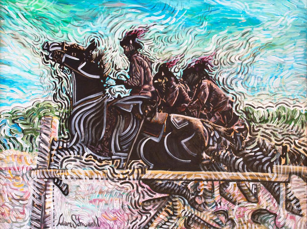 Frenzy Horse Art | Adam Schwankl