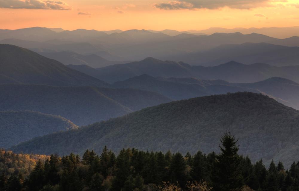 Mountain Vista Blue Ridge Parkway Art | Drew Campbell Photography