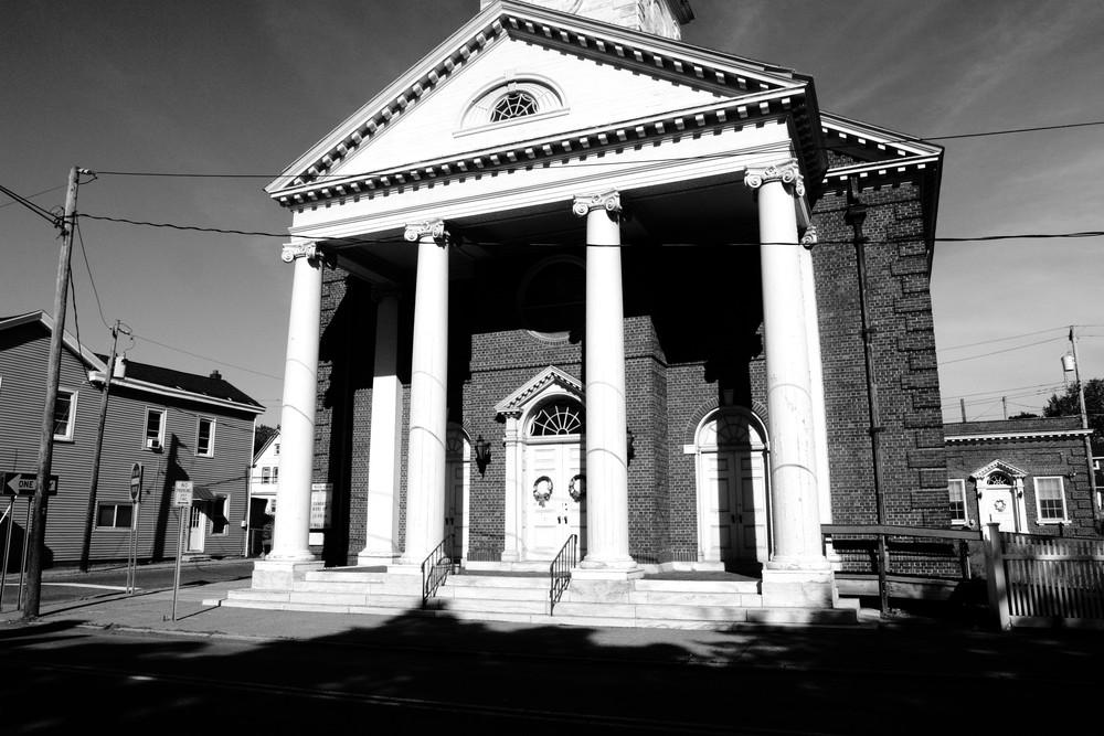 Neighborhood Church Photography Art   Peter Welch
