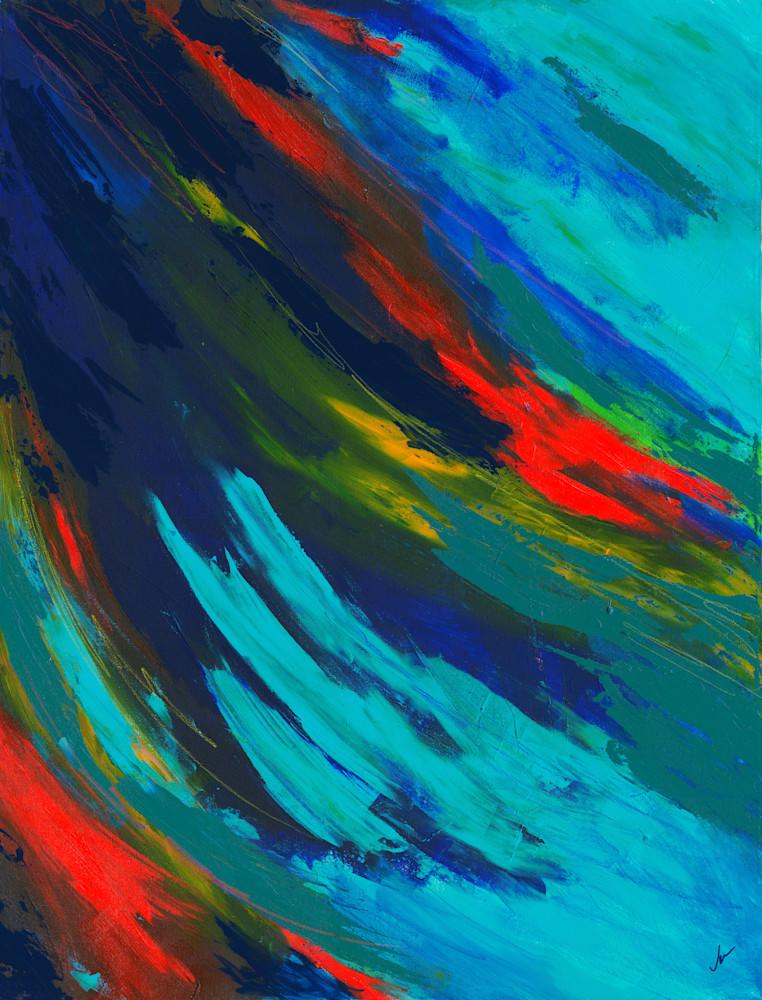 Parrot Feathers Art | Jen Sterling LLC