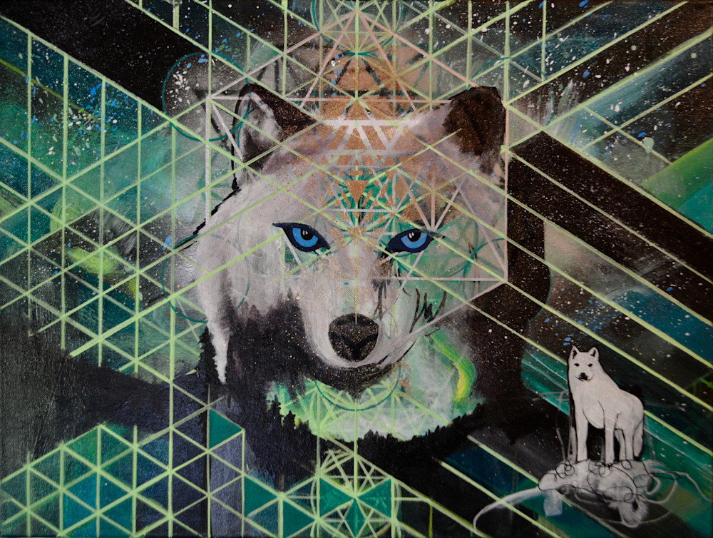 White Wolf Spirit Art | Gnarwhal Designs