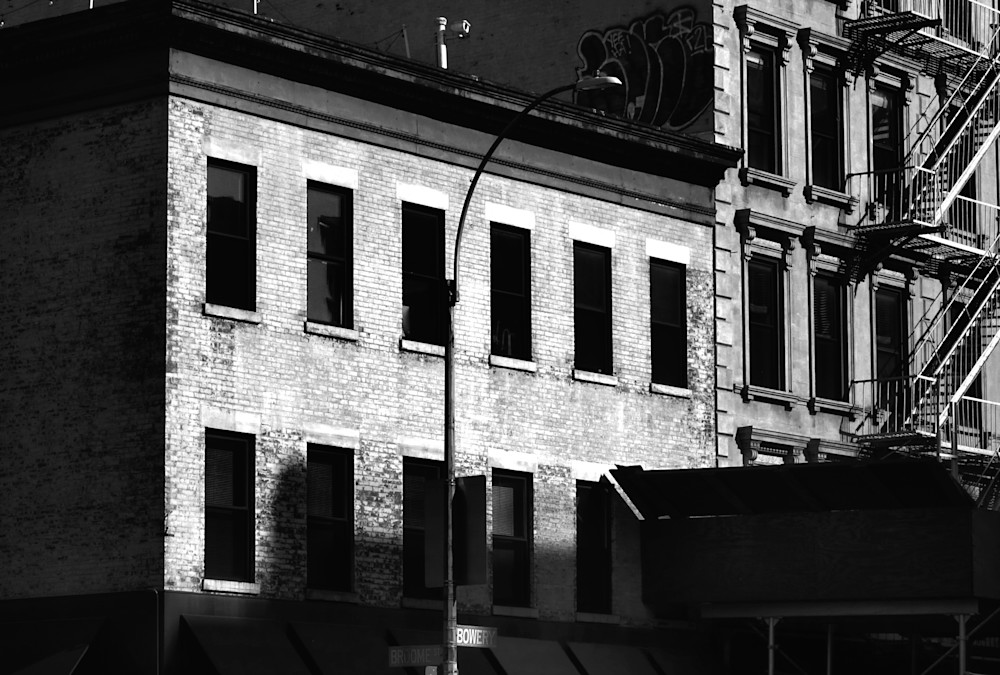 Bowery Remnants  Photography Art   Peter Welch
