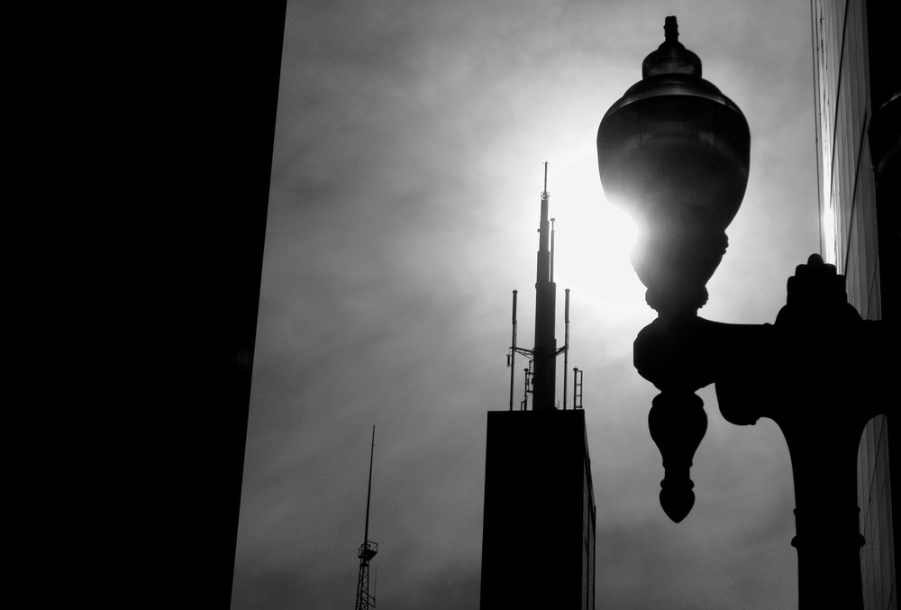 Skyscraper Silhouette, Chicago Photography Art | Peter Welch