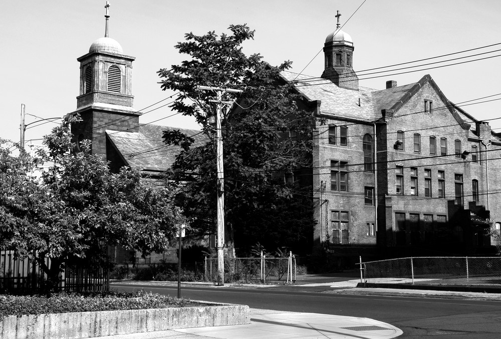 Two Churches, New Haven Photography Art | Peter Welch