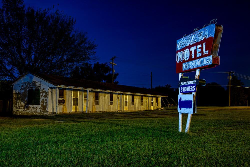 Route 66 - Chelsea Motel photography prints