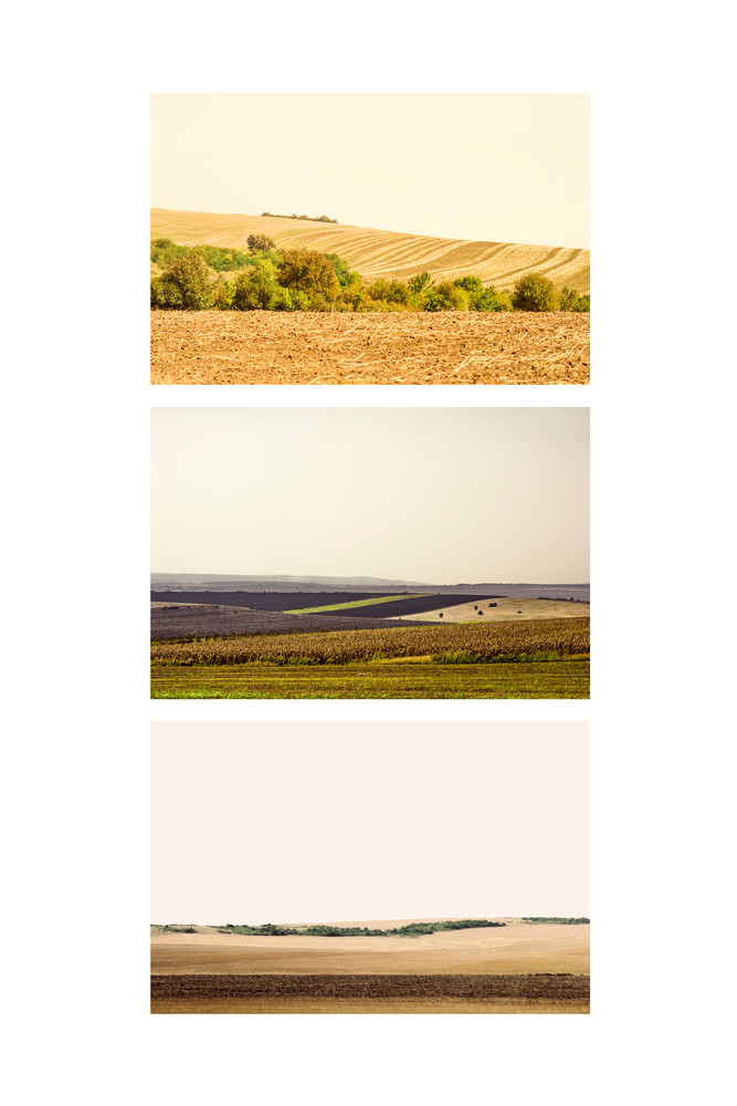 Landscapes II - Abstract Landscape Photography - Fine Art Print by Silvia Nikolov
