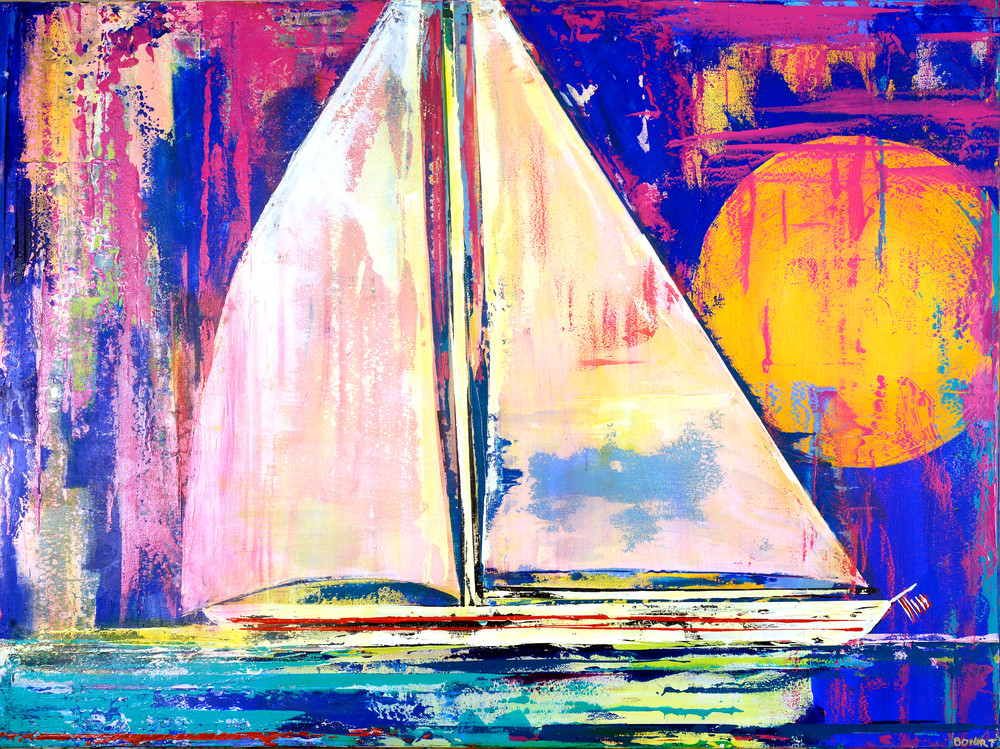 Setting Sail Art | benbonart