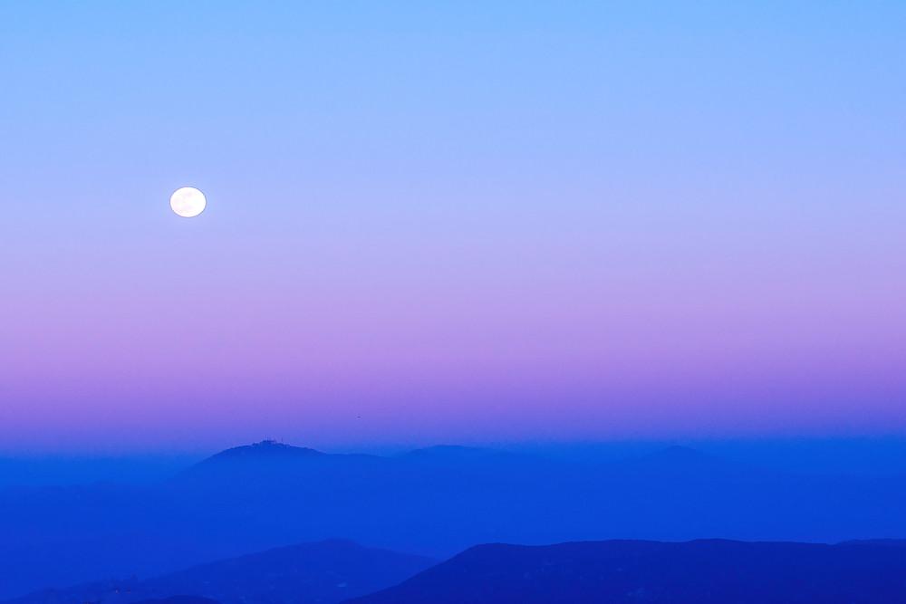 Moonlight over Twin Peaks
