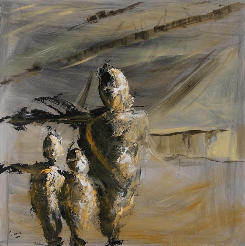 Refuge 1 Art | Mediterranean Fire inc.