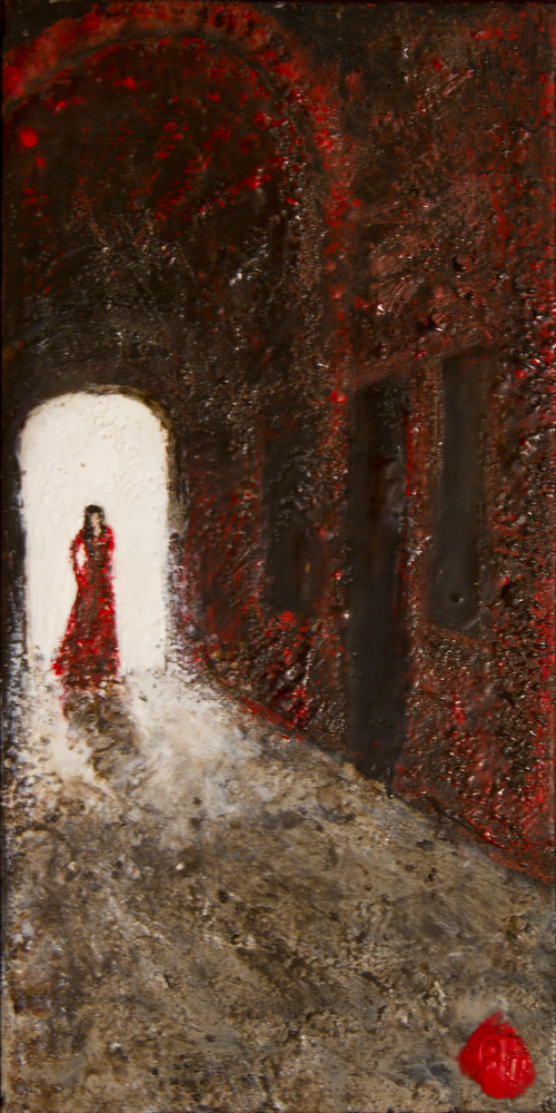 Lady In Red Art | Bruce Tyner