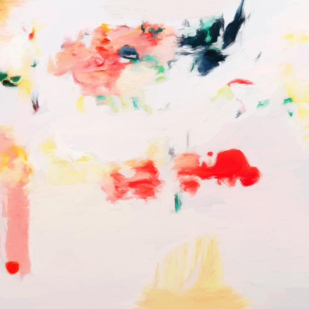 Kate - Pink abstract art print
