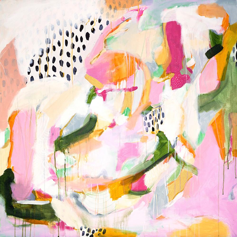 Adira - Square abstract art print