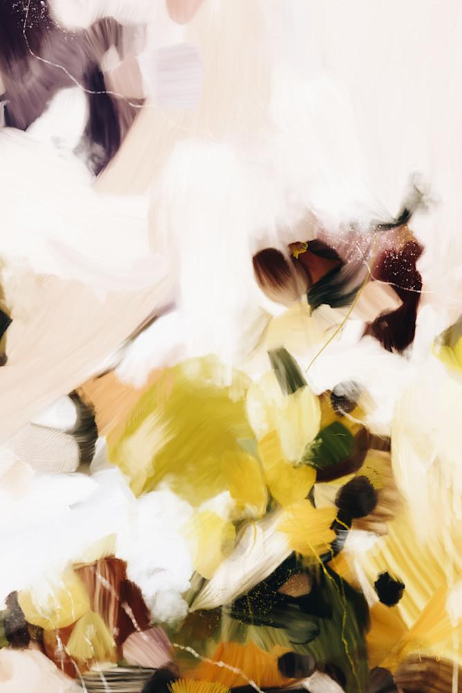 Velvet - Abstract art print on canvas