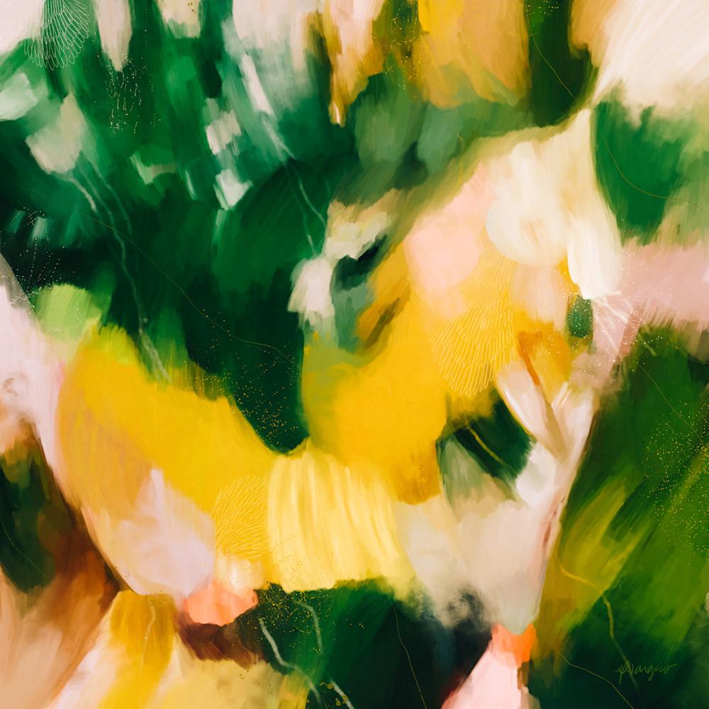 La Selva - Tropical abstract art print