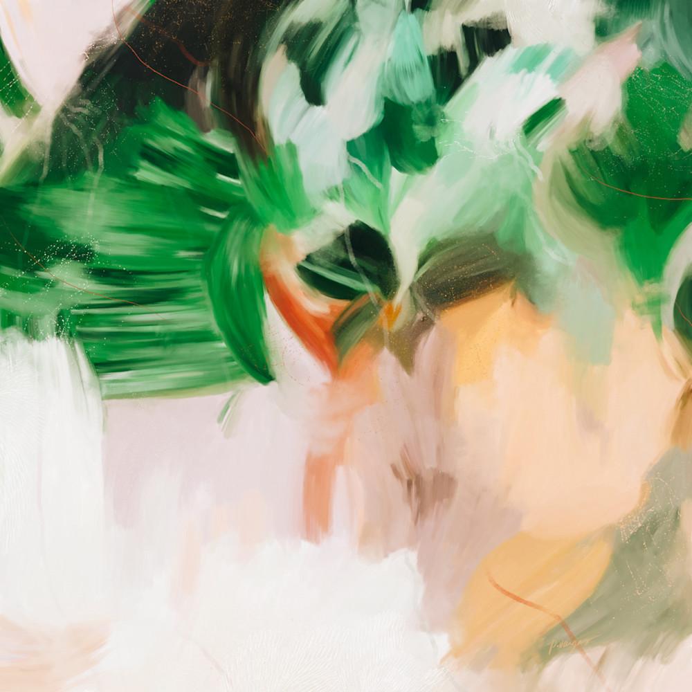 Iria - Square abstract art print