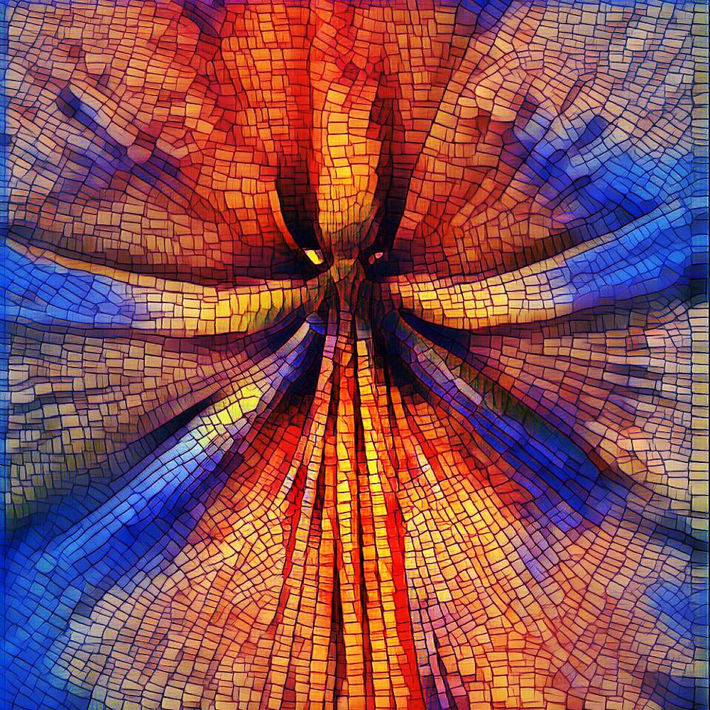 Stargazer Mosaic by Mike Caplan
