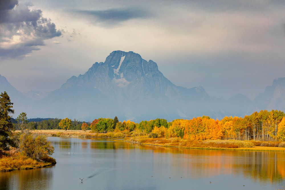 A Fall morning in Grand Teton National Park
