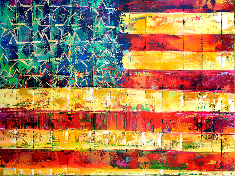 American Flag Art | benbonart