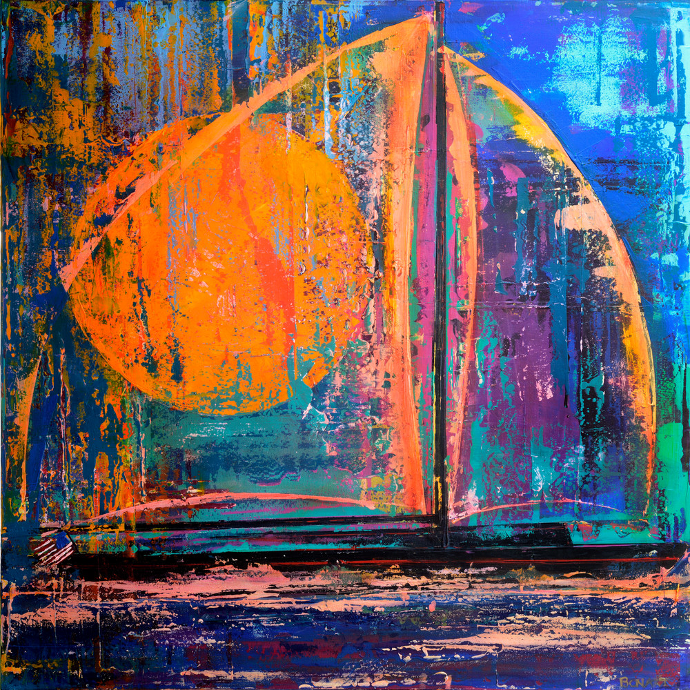 Holiday Sail Art | benbonart