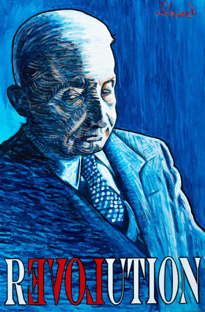 Ludwig Von Mises Art | Adam Schwankl