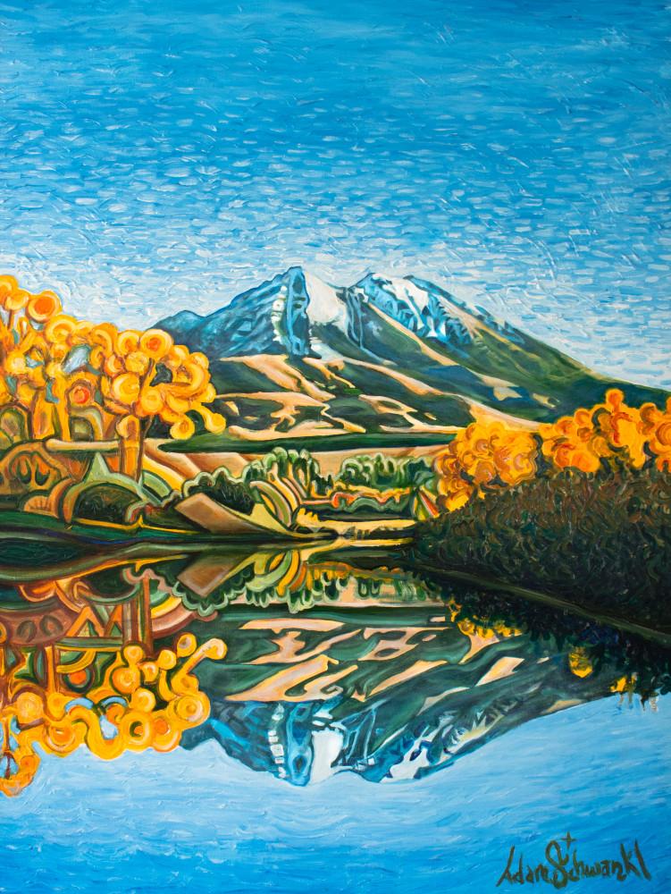 Emigrant Peak Art   Adam Schwankl